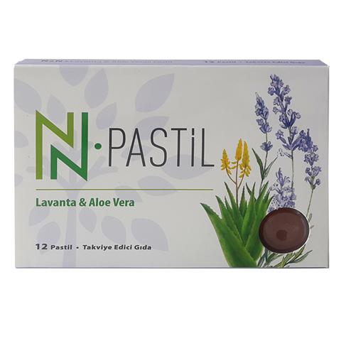 Lavanta & Aloe Veralı Aromatik Pastil